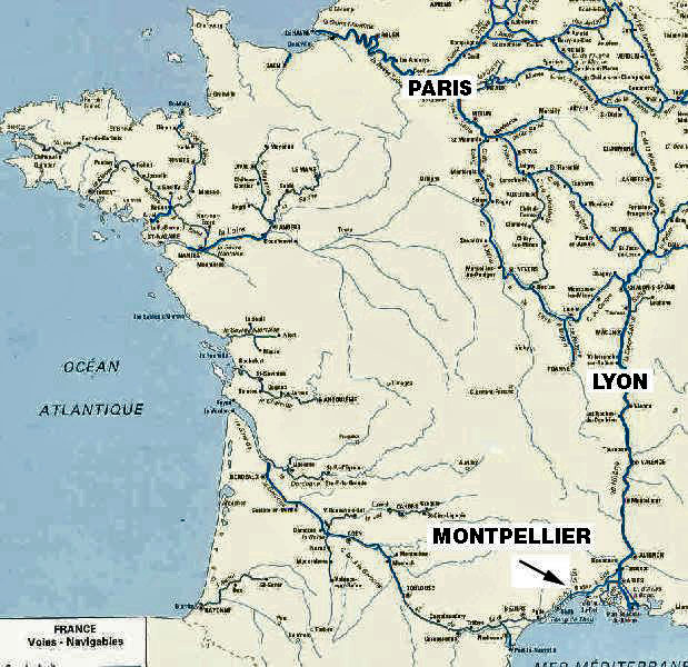 TOHG In FRANCE MAPS - Major cities in france